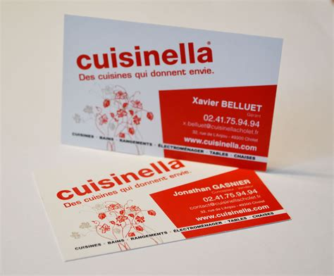 cuisine ella carte de visite cuisinella on behance