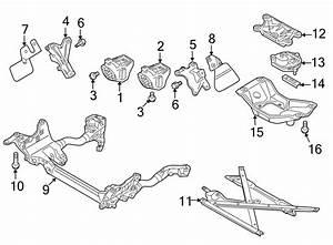 2013 Audi S5 Automatic Transmission Mount Bracket  Manual