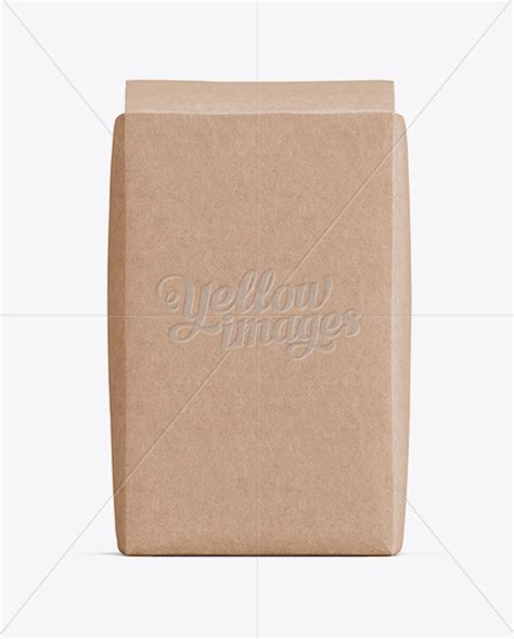 Paper bag front view free mockup psd a paper bag mockup psd file to help you showcase your print branding and packaging design. Kraft Paper Flour Bag Mockup - Front View in Bag & Sack ...