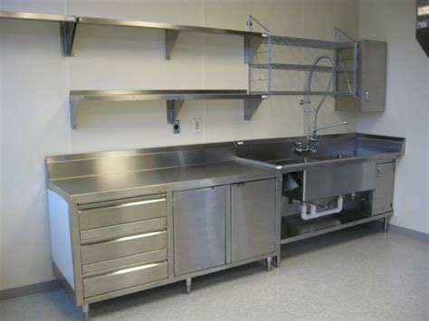 stainless steel wall cabinets kitchen stainless steel shelves allied stainlessallied stainless