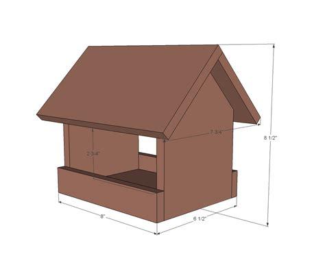 bird feeder plans white kit project 2 cedar birdfeeder diy