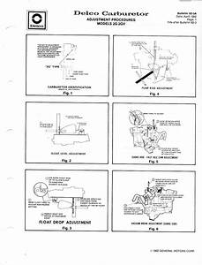 14 Rochester 2 Barrel Carburetor Vacuum Diagram