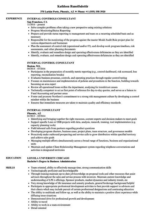 Business Consultant Resume by Consultant Resume Sles Velvet