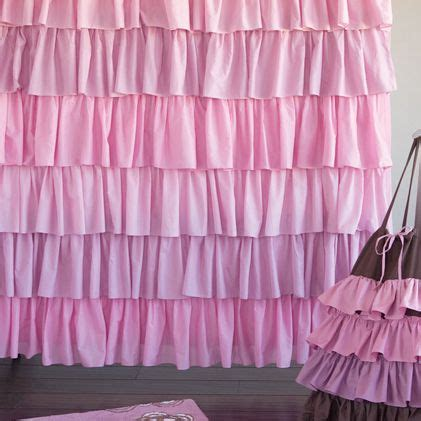 pink and purple ruffle curtains pink ruffled shower curtain shower curtains
