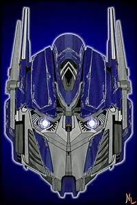 Optimus Prime -Head Colo- by Rumblebee88 on DeviantArt