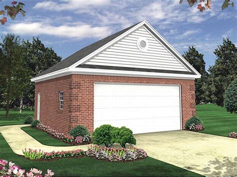2-car Garage Plan #001g-0001 At