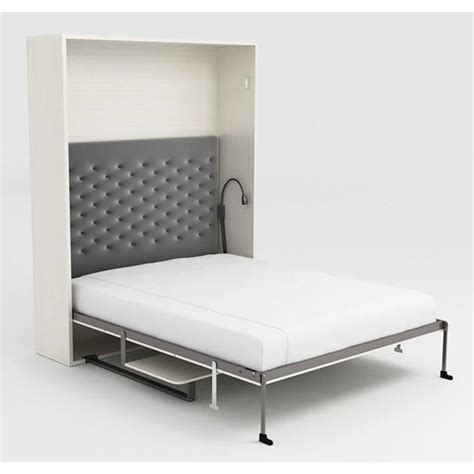 bureau dans armoire armoire lit escamotable 160x200 blanc bureau achat