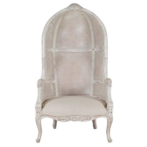 style wingback canopy porters chair for sale