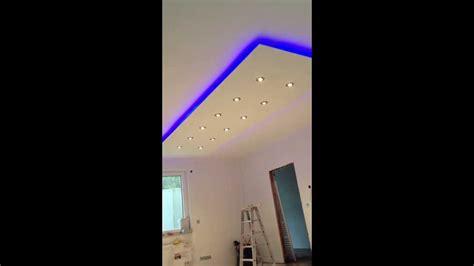 abgeh 228 ngte decke indirkte beleuchtung led halogen spots