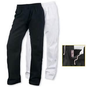10 oz womens elastic waist pants karate taekwondo martial arts