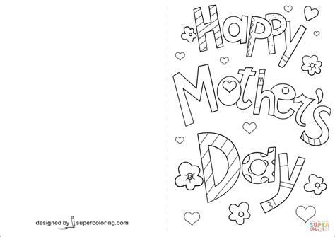 pretty image  happy mothers day coloring pages birijuscom