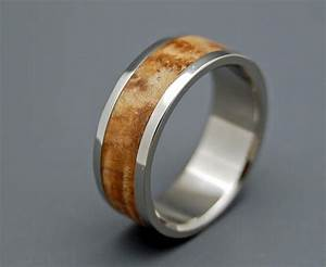 Woodstock wooden wedding rings by minterandrichterdes on etsy for Wood wedding rings etsy