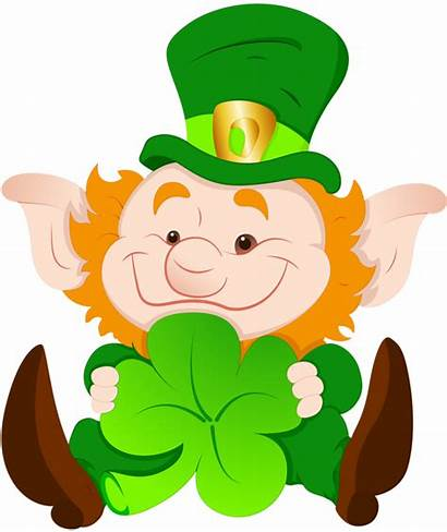 Leprechaun Clipart Svg Patrick Patricks Saint Irish