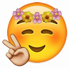 """Emoji Flower Child "" by FredrikTDG Redbubble"