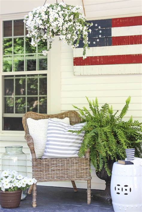 204 Best Images About Patriotic Porches On Pinterest