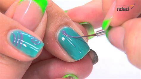 gellak zomerse nail met gel design nagels nded nl