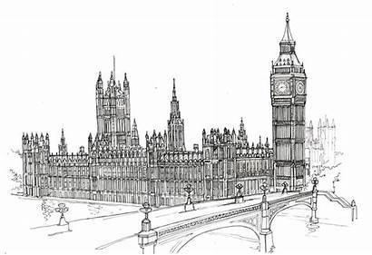 Parliament Drawing London Houses Ben Google Sketch