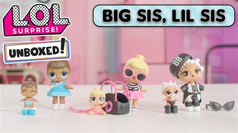 unboxed episode  big sis lil sis lol lil outrageous