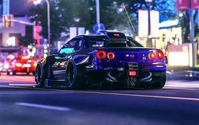 Skyline Nissan Night Gt R34 Virtual Khyzyl