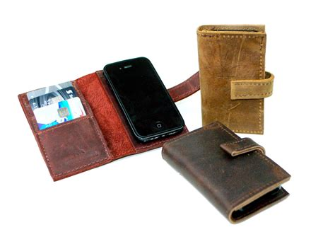phone wallet leather iphone 5 wallet distressed leather phone