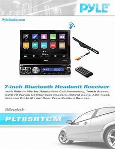 Pyle Plt85btcm Car Stereo Receiver User Guide