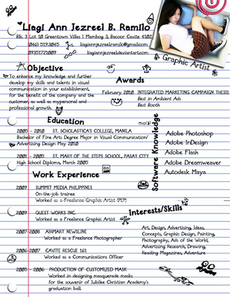 Best Creative Resumes Exles by Resume Designs Best Creative Resume Design Infographics