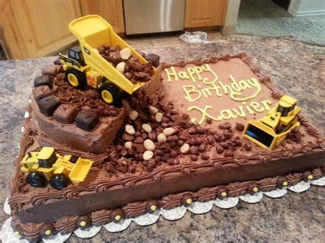 construction cake ideas 2nd birthday cake for x xavier is turning 2 2nd 3026