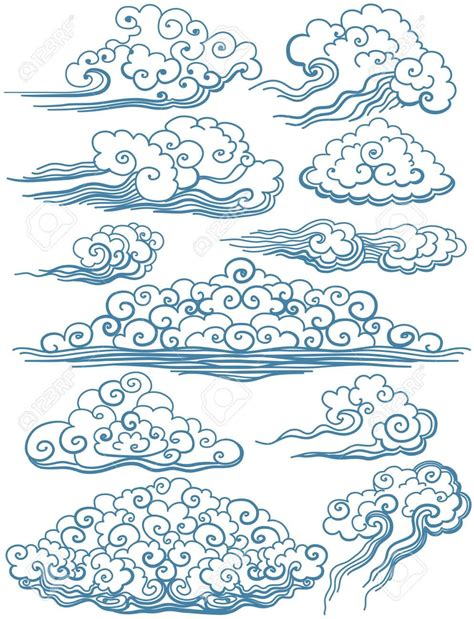 japanese cloud tattoos
