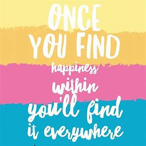 Positive Quote | A Box of Happiness