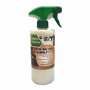 Nettoyant detachant entretien cuir et simili green for Produit d entretien pour canapé simili cuir
