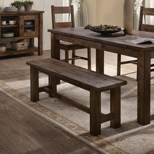 lifestyle  cd dn rustic dining bench  block