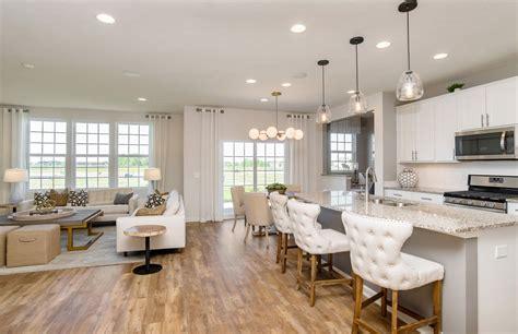 spacious open floorplan pulte homes  home builders pulte