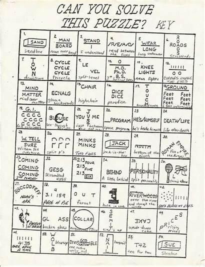 Rebus Puzzles Puzzle Printable Hard Pdf Answers