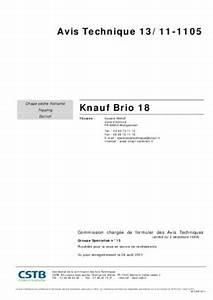 Knauf Brio 18 : knauf therm sol mi notice manuel d 39 utilisation ~ Eleganceandgraceweddings.com Haus und Dekorationen