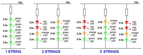 Leds Series Parallelelectronics Project Circuts