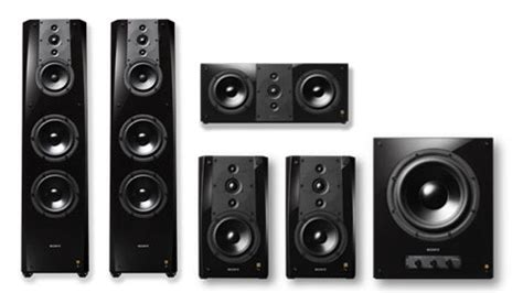 sony es series home theater speaker system ecoustics com