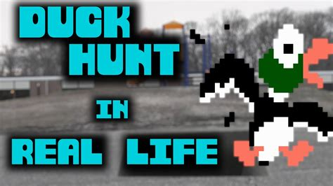 Duck Hunt In Real Life Youtube