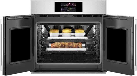 monogram ztsxfpsnss   smart electric single oven   cu ft capacity wifi precision