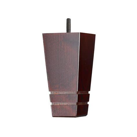 wooden sofa leg mm  mm square tapered leg