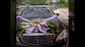 decoration voiture cortege mariage idée décoration voiture mariage