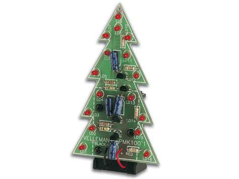 mk100 electronic christmas tree velleman inc