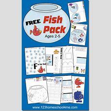 Free Fish Preschool Printable Pack  Free Homeschool Deals