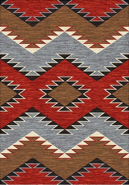 Southwest Traditions Area Rug: Cabin Place