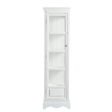 vitrine maison du monde vitrine aus paulownienholz b 49 cm wei 223 jos 233 phine maisons du monde