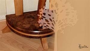 Flur Konsole : console fleur 100 massif fabrication meuble en bois ~ Pilothousefishingboats.com Haus und Dekorationen