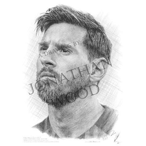 lionel messi sketch  paintingvalleycom explore