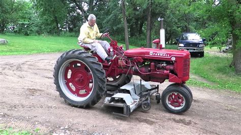 lot  ih mccormick farmall super  tractor youtube