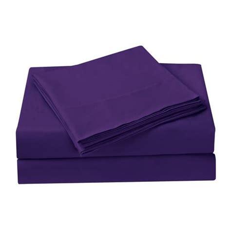 mainstays purple microfiber sheet set walmart ca