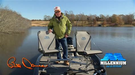 Millennium Boat Seats Bass Pro by Millennium Marine Fishing Double Seat Tv Commercial New