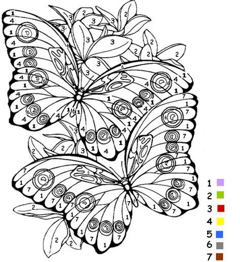 beaucoup de jeux de cuisine coloriage magique de papillon sur jeudefille com